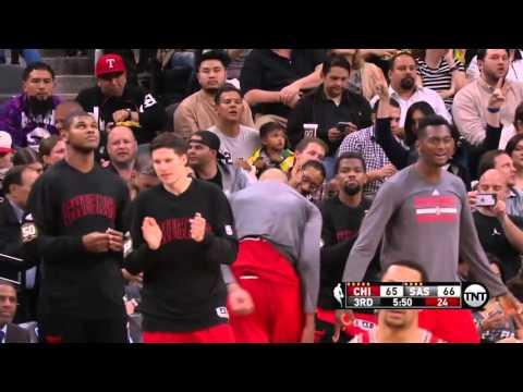 Chicago Bulls vs San Antonio Spurs | March 10, 2016 | NBA 2015-16 Season
