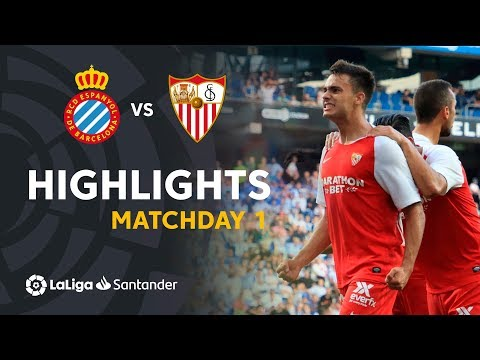 Highlights RCD Espanyol vs Sevilla FC (0-2)
