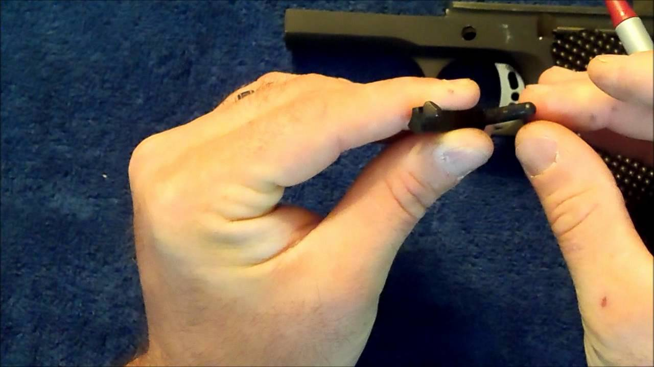 1911: Problems with premature slide lock or failure to lock