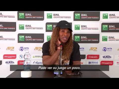 Download Serena Williams sobre Nadia Podoroska