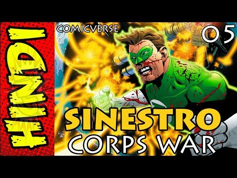 SINESTRO CORPS WAR PART - 5   THE END   DC COMICS IN HINDI   #COMICVERSE streaming vf