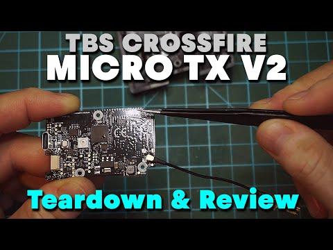 Фото TBS Crossfire Micro TX V2 - Teardown & Review