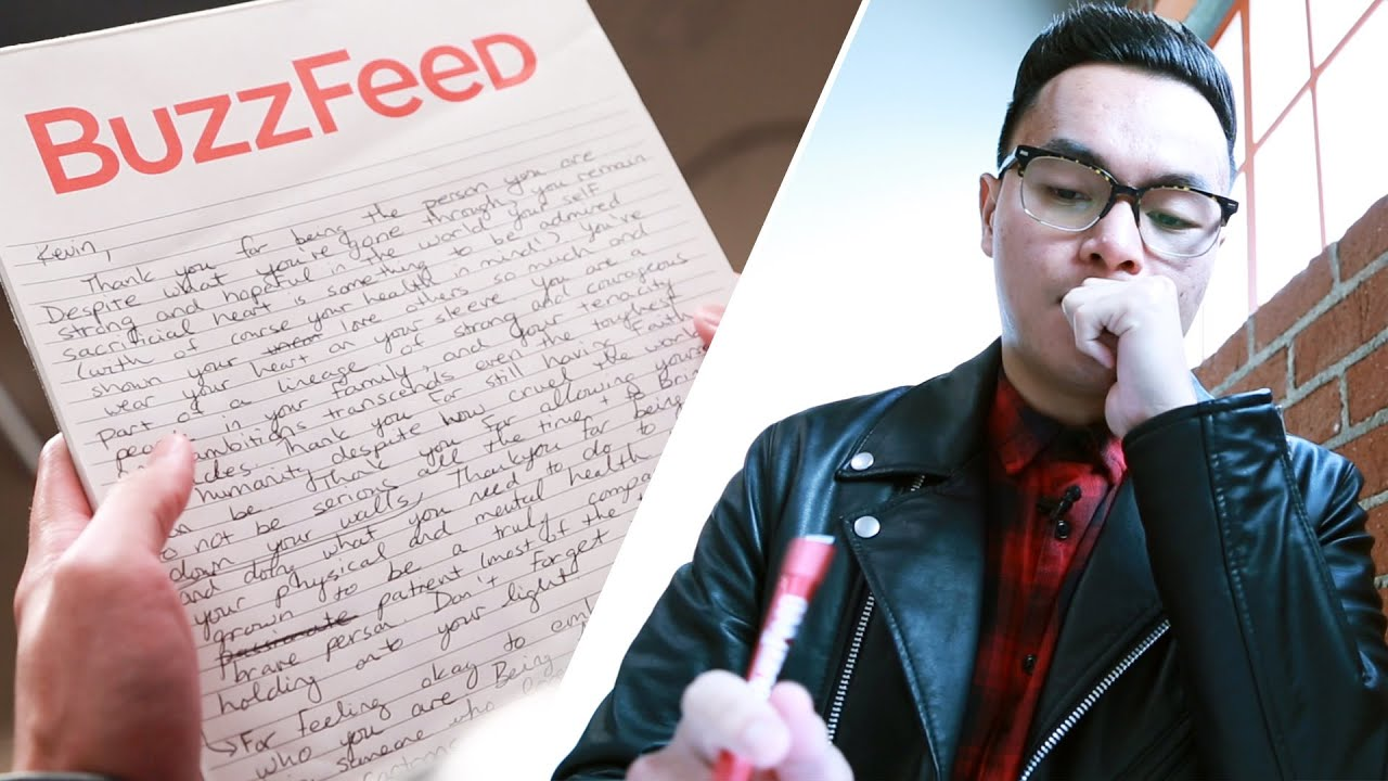 People Write Thank You Letters To Themselves