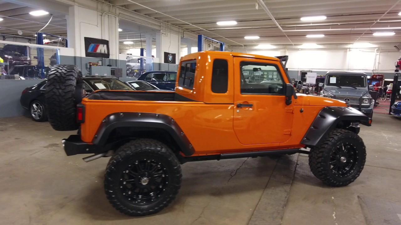 JK8 2012 Jeep Wrangler Pickup for sale - YouTube