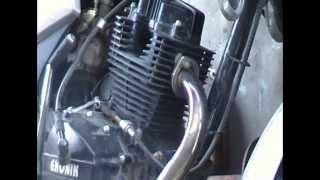 Небольшой ремонт мотоцикла Dayang 150