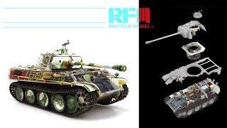 Сравнительный обзор сборных моделей Panther Ausf.G в масштабе 1:35 от компании Rye Field Model