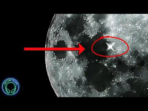 """MULTIPLE """"Alien Lights"""" Flashing On The Moon?..."""