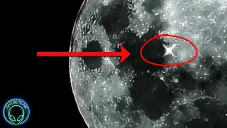 WHAT Is Flashing On The Moon?...