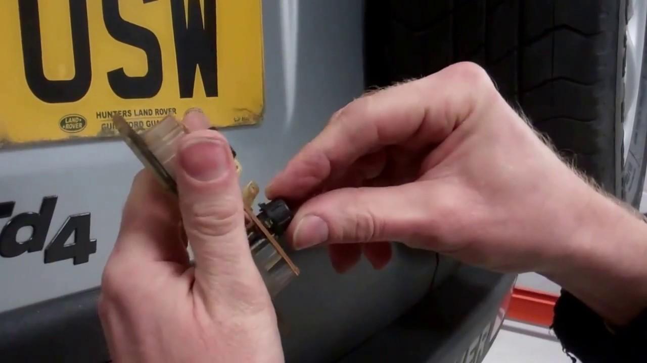 Land Rover Freelander 1 Led Rear Number Plate Light Upgrade Youtube Tag Wiring Diagram