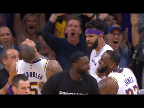 Tyson Chandler Game-Saving Block on Trae Young | Hawks vs Lakers | Nov 11, 2018 | 2018-19 NBA Season