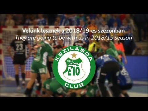 Velünk lesznek a 2018/19-es szezonban