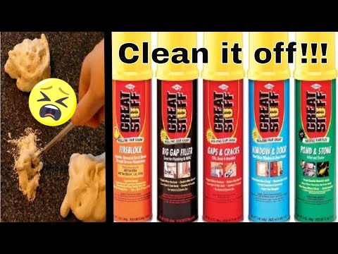 how-to-clean-and-remove-great-stuff-expanding-foam-from-anything