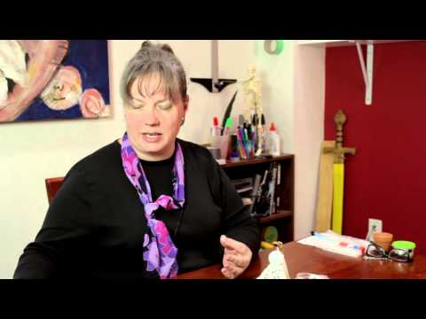 Clay Pot Angel Instruction : Decorative Crafts & Accessories