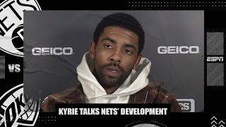 Kyrie Irving Talks Brooklyn Nets' Development, Team Chemistry | NBA On ESPN