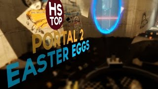 Top 10 Easter Eggs ★ Portal 2