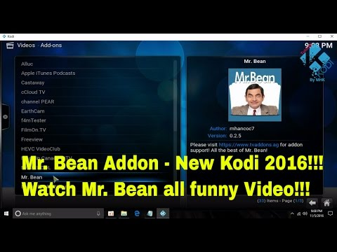 Mr.  Bean Addon (New 2016) - How to install in Kodi to watch all Mr. Bean funny serials for free