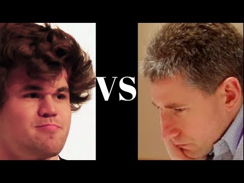 Magnus Carlsen vs Michael Adams - English Opening - Overstretched resources! (Chessworld.net)