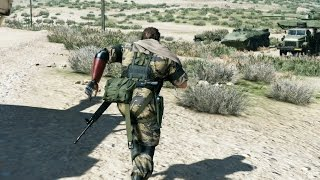 Metal Gear Solid 5 Phantom Pain Gameplay - 30 Minutes Gameplay Walkthrough from the Developer