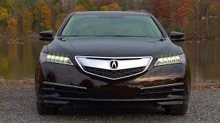 2015 Acura TLX 2.4L - TestDriveNow.com Review by Auto Critic Steve Hammes | TestDriveNow