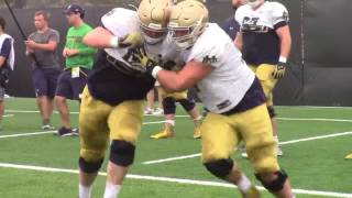 Notre Dame Practice Highlights (Aug. 13)