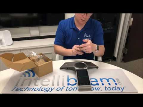 Yealink CP960 HD Conference IP Android Phone unboxing by Intellibeam