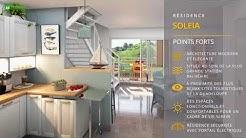 Résidence SOLEIA - 25 appartements T2, T3 et T3 duplex - Le Gosier GUADELOUPE