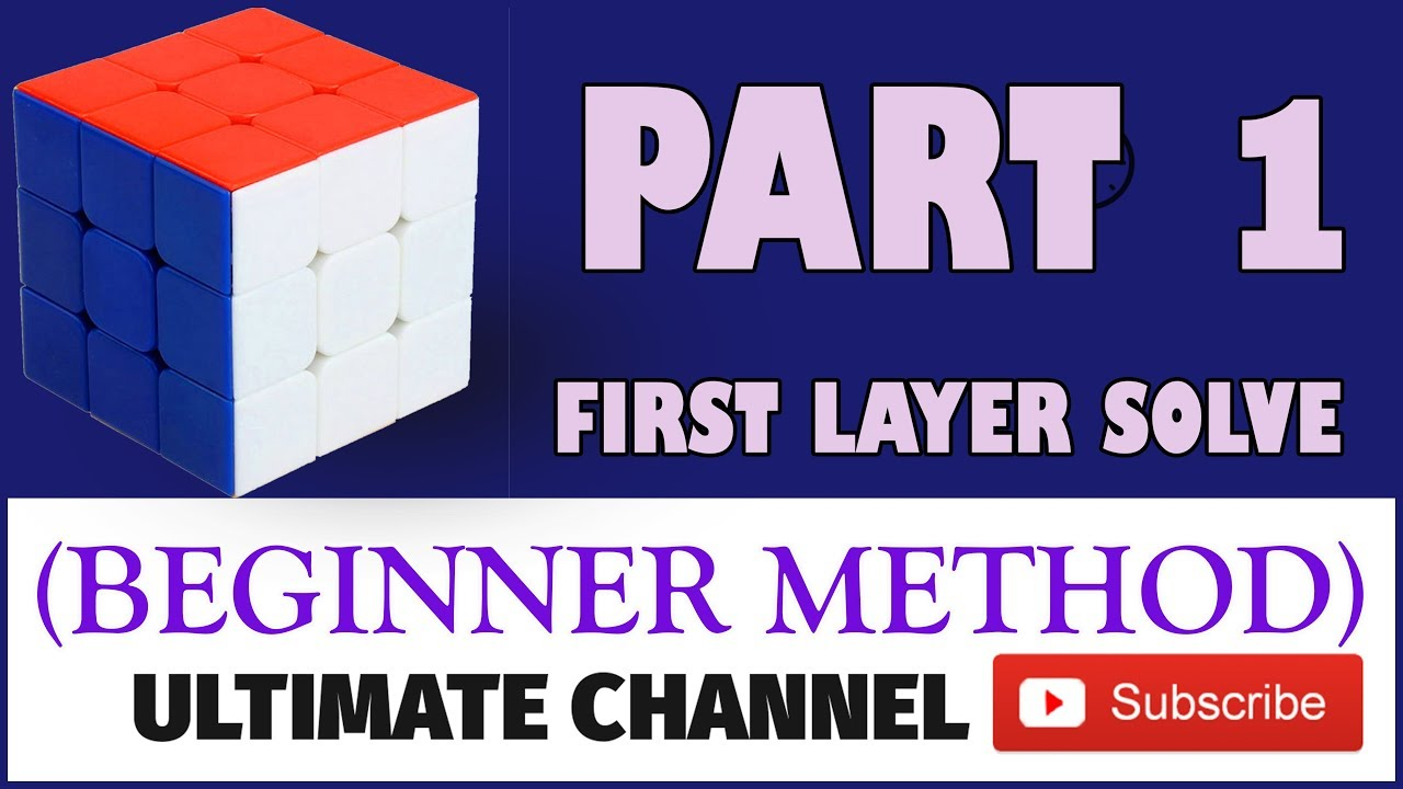 Download How To Solve 3x3 Rubik's Cube in Hindi without Algorithms {Part 1} Beginner's Method solve rubix