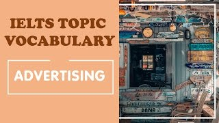 IELTS Vocabulary band 8 : Advertising