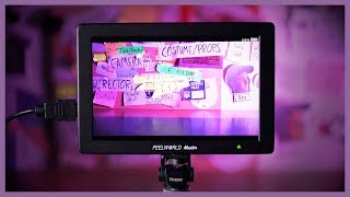 FeelWorld Master MA7 7Inch On-Camera Field Monitor 4K HDMI GARANSI RESMI