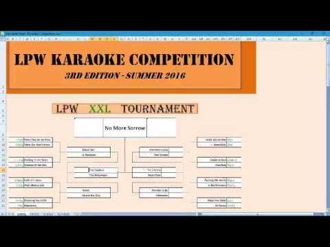 LPW Karaoke Competition III