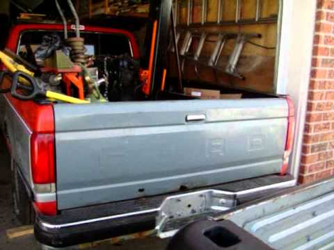 3 Month Cold Start 1988 F150 Parts Truck and Strip Down
