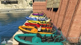 Snipers vs Speed Boats GTA V