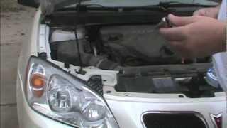 Headlight Replacement G6 - How To Replace A Headlamp Bulb on 2009 Pontiac G6 - DIY
