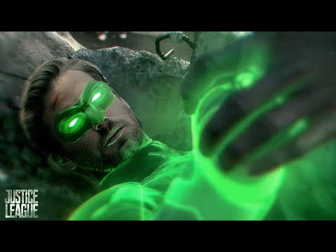 Justice League (2017) Green Lantern Scene - Extended Cut [HD] Lanterns Cameo DC Superhero Movie
