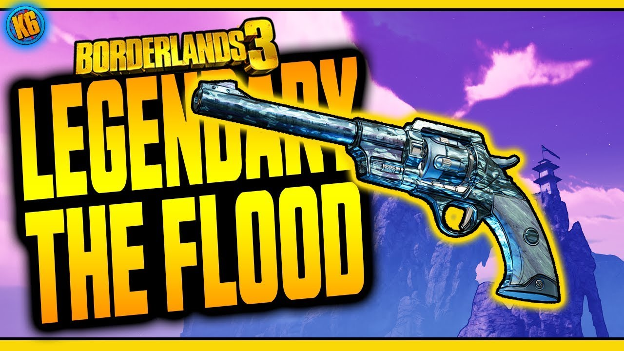 Borderlands 3 | THE FLOOD | Legendary Weapon Review thumbnail