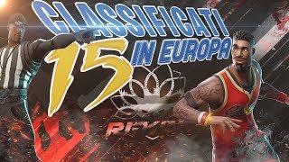 CI SIAMO CLASSIFICATI TOP 15 EUROPA - CHAMPION DIVISION