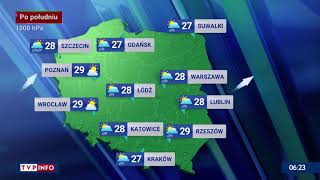 Pogoda na wtorek 27.07.2021 r. screenshot 2