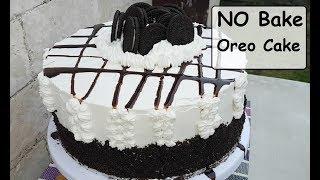 No Bake Oreo Cake | No bake chiffon cake | Steamed cake (2018)