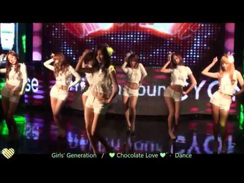 1080p [SNSD] Girls' Generation (少女時代) / Chocolate Love [Dance Ver.- MP4]
