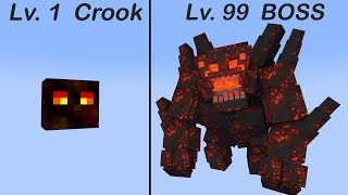 monster school crook vs boss 2 minecraft animation