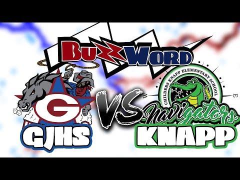 Buzzword - George Junior High School vs. Knapp Elementary