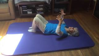 Side Bending (Lateral Flexion) with Crossed Legs