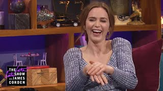 Emily Blunt Had to Keep 'Quiet' During Her Last Visit