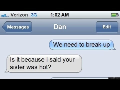 funny texts to girlfriend