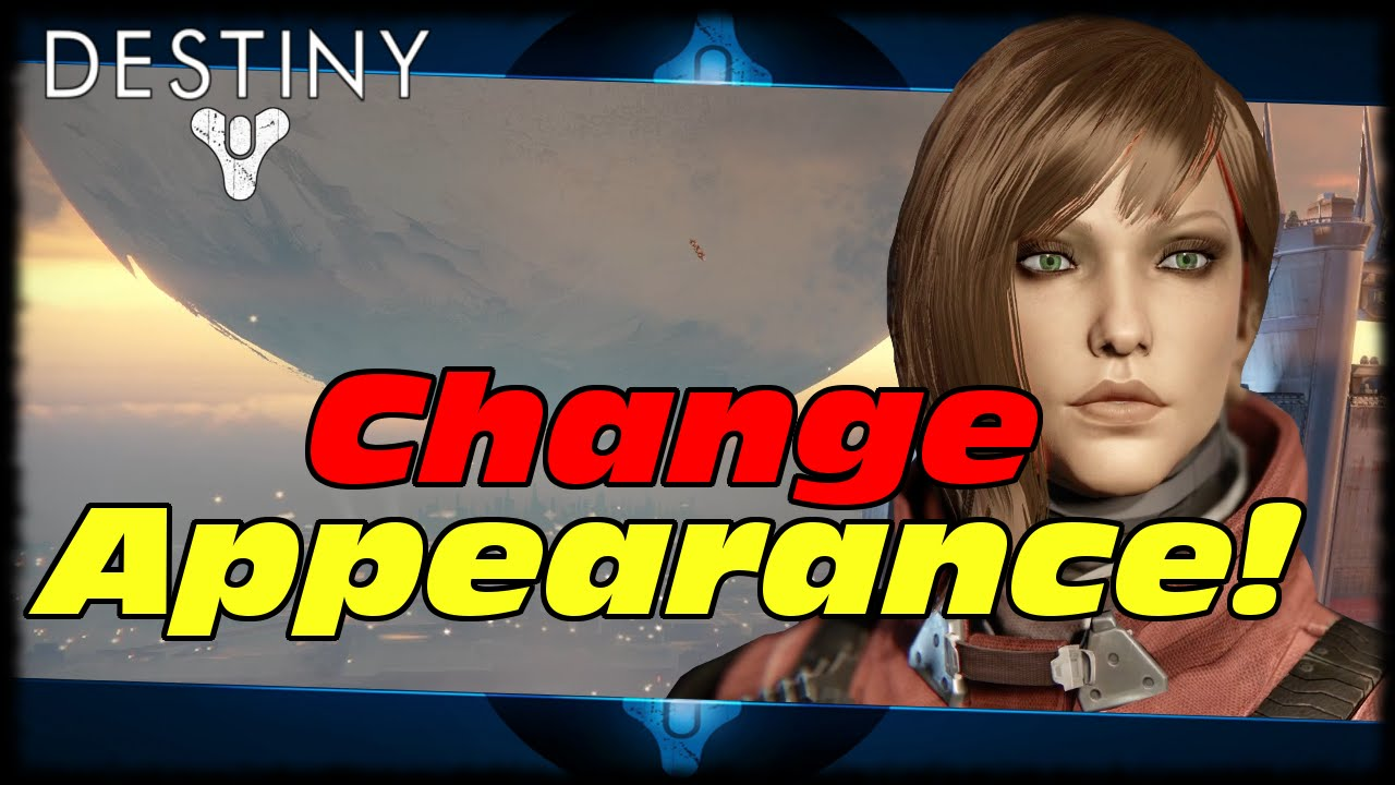How To Change Your Appearance Once Destiny The Taken King Spark Of Light Instant Level 25 Youtube