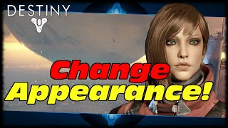 How To Change Your Appearance Once! Destiny The Taken King Spark Of Light Instant Level 25!