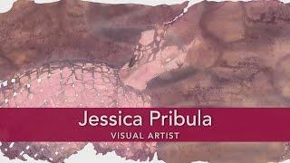 Jessica Pribula, Paper Weaving