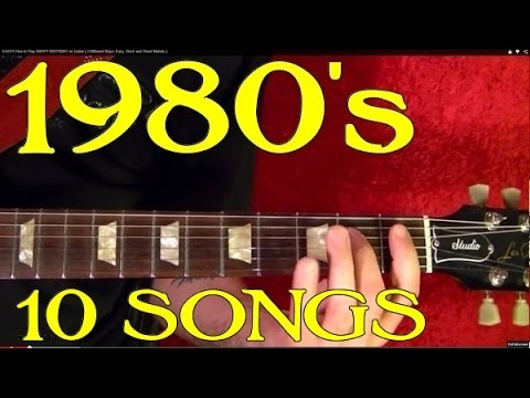 1980's Big Hits - Guitar Lesson