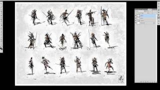 Concept Art - Character Development 01 (thumbnail sketches)