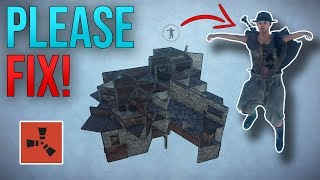 HOW TO GLITCH YOURSELF INTO ANY BASE! - Rust Exploit
